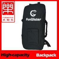 Inflatable stand paddle board iSUP Surfingboard Shoulder Bag zip backpack ,carrybag, backbag