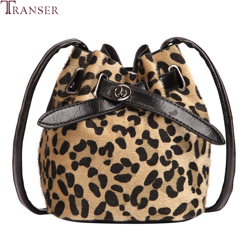 Women's Bags 2019 Fashion Women Leopard Fur Shoulder Bags Metal Hasp Leopard Handbags Tassel Cross Body Bags Print Crossbody Bags Z70 For Fast Shipping