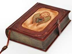 Steampunk leder journal antiken stil Gefallenen Engel ca. 6,5x9 inch leder journal sketch notebook tagebuch