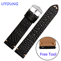Quality Leather Band For Watch 20mm22mm For Pebble Time Steel/Steel 2/Smart watch/Round Mens Replace Strap Multi-color