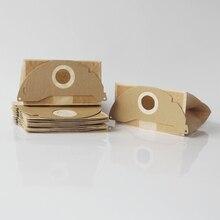 10x Elektrikli Süpürge Kağıt Toz Torbası Karcher için WD2.250 6.904 322 WD2200 A2004 A2054 A2024 WD2 Elektrikli Süpürge Toz çanta Değiştirme