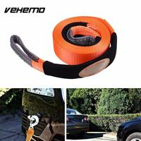 Emergency 2 95 19 68 Inch Tow Rope Trailer Lifting Hoisting Belt Pulling Strap Cars