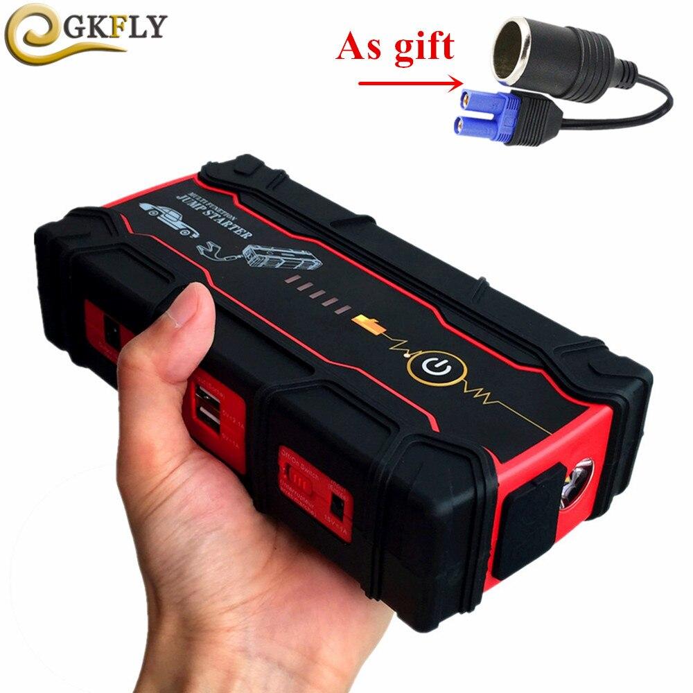 High Power 18000mAh Car Jump Starter Power Bank Portable Starting Device 800A Diesel Petrol Car Battery