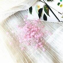 Мм 5 м 8 + 3 мм леска искусственный жемчуг бусины цепи Строка Гирлянда Цветы DIY Свадебная вечеринка украшения питания брак