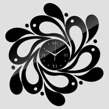 Clocks shipping new real rushed clock watch home decoration Wall Stickers Mirror Acrylic Living Room