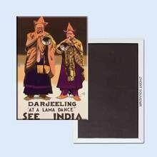 Смотрите Индия Дарджилинг 24193 ретро ностальгия магниты на