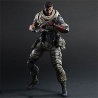 Haocaitoy PA Figures Metal Gear V5 PVC Snake Action Figures Variant Collectible Doll Model Toys With Box 27cm