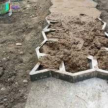 Path-mate DIY каменная тротуарная форма для изготовления дорожек для вашего сада/форма для производства брусчатки/Path mate бетонная форма O0004