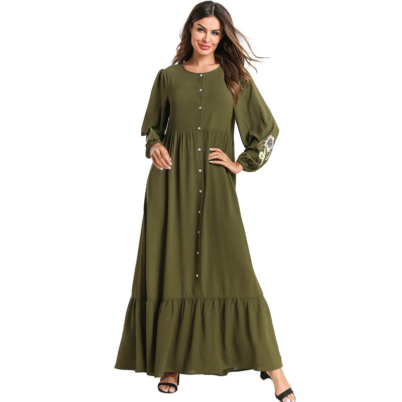 Plus Size Abaya Dubai Turkey Muslim Dress Islam Hijab Dress Kaftan Abayas For Women Caftan Ramadan Robe Elbise Islamic Clothing