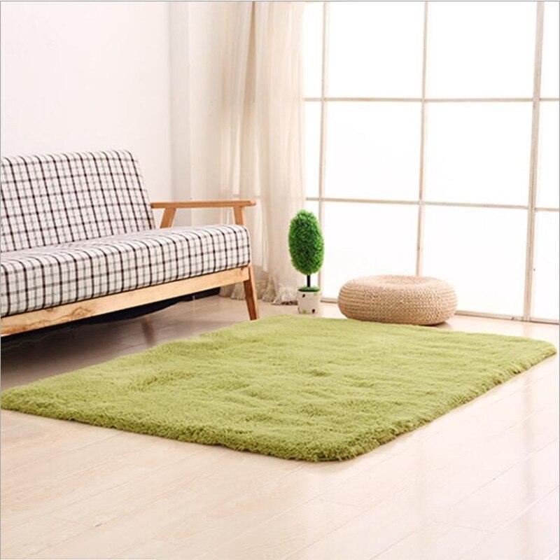 Personnaliser n'importe quelle taille Shaggy Super doux anti-dérapant tapis tapis pour salon lit chambre porte tapis tapis de bain vente au détail
