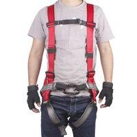 Adjustable Body Waist Harness Climbing Belt Fall Protection Full Body Rock Climbing Harness Body Seat Belt|Climbing Accessories| |  -