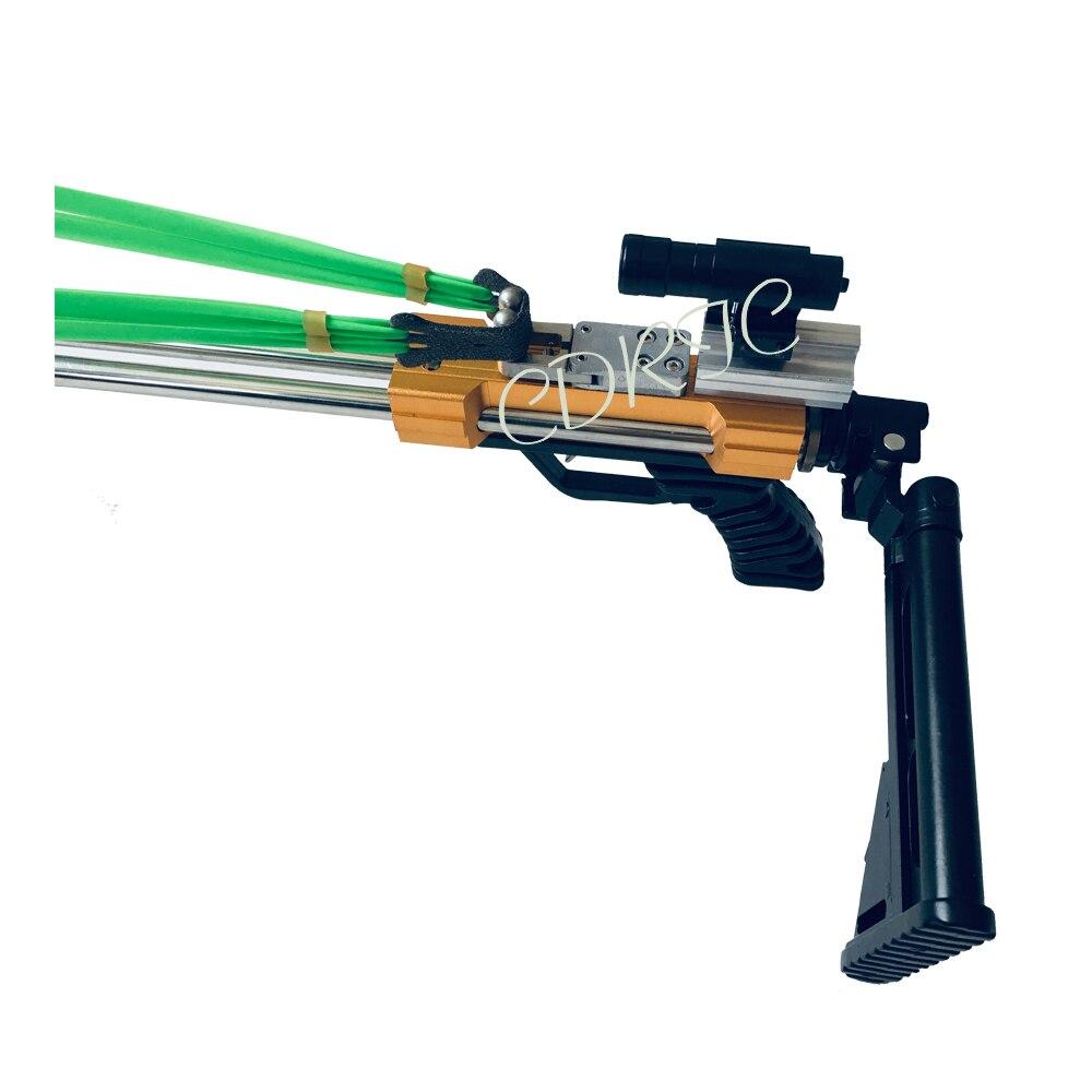 Новая охотничья Рогатка Longwei, мощная нержавеющая Рогатка для охоты, полуавтоматическая стрела и 40BB