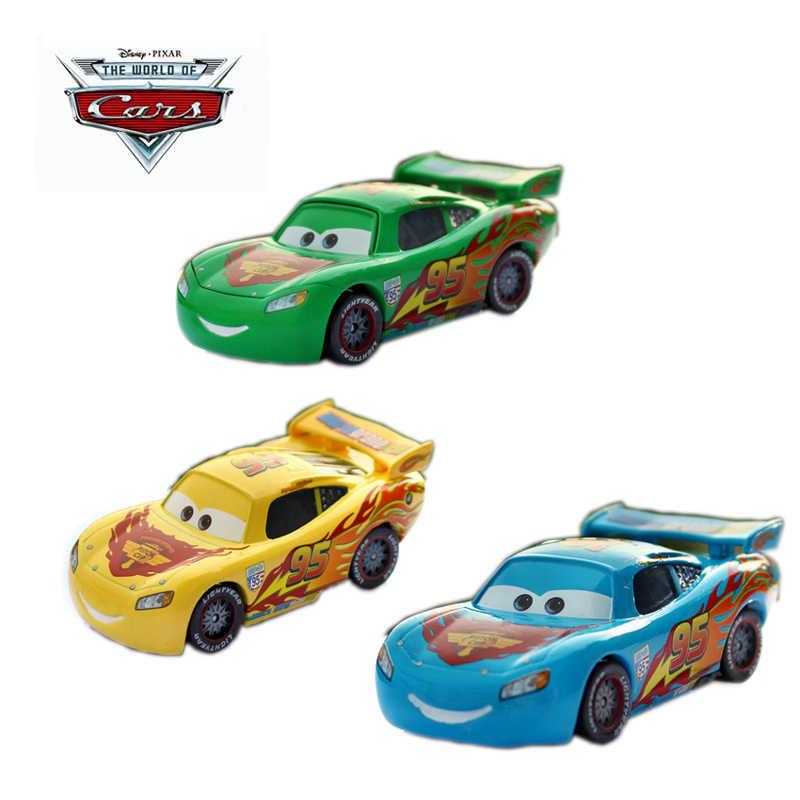 Mcqueen Pixar Edición Limitada Amarillo 55 Disney Lightning 1 Cars 0nOPX8wk