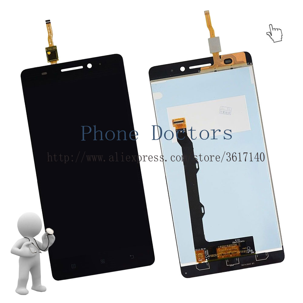 5,5 \'\'Touchscreen Digitizer Glass + Lcd Anzeige + Rahmen Abdeckung ...