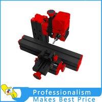 Jig Saw Grinder Driller 6in1 Tools Motorized Mini CNC Machine DIY Micro Lathe Machine Tool For