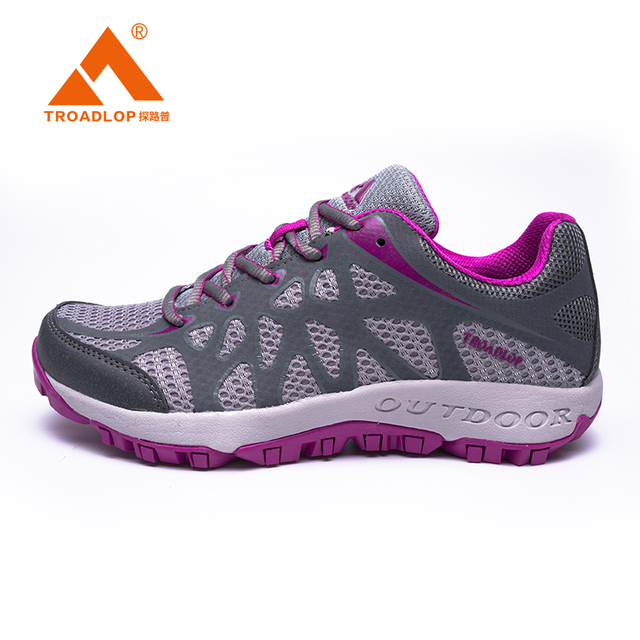 82be17f6a4f4 TROADLOP Women Outdoor Trail Running Shoes Cushioning Sports Shoes Men  Walking Shoes Sneakers