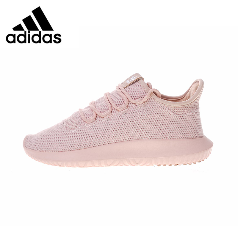 ADIDAS TUBULAR SHADOW Women's Running Shoes, Pink/Light Blue, Breathable Lightweight Wear-resistant BW1309 BW1310