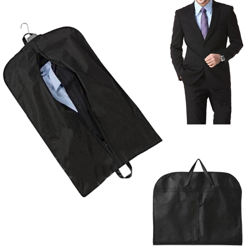 3 Colors Men Dustproof Hanger Coat Clothes Garment Suit Cover Storage Bags Clothes Storage Case Clothing Covers 1Pcs