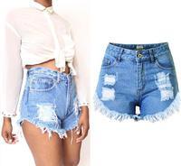 Plus Size Vintage Summer Cheap High Waist Short Jeans Casual Woman Denim Shorts Female Loose Women Sexy Jean Shorts