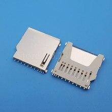 100 قطعة SD مقبس بطاقات الذاكرة محول قاعدة لوحة دائرة مطبوعة موصل