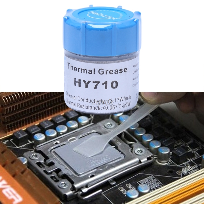 10g HY710-CN10 Thermal Grease CPU Chipset Cooling Compound Silicone Paste 3.17W June Dropship цена