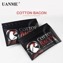UANME Cotton Bacon Vape Cotton Bacon For RDA RTA RBA Atomizer Vape Accessories E Cigarettes поло print bar bacon pancake