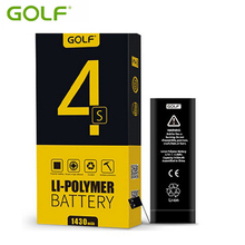 Hot Sale Original Golf Battery For iPhone 4s Real Capacity 1430mAh Replacement Batteries Best Qualit