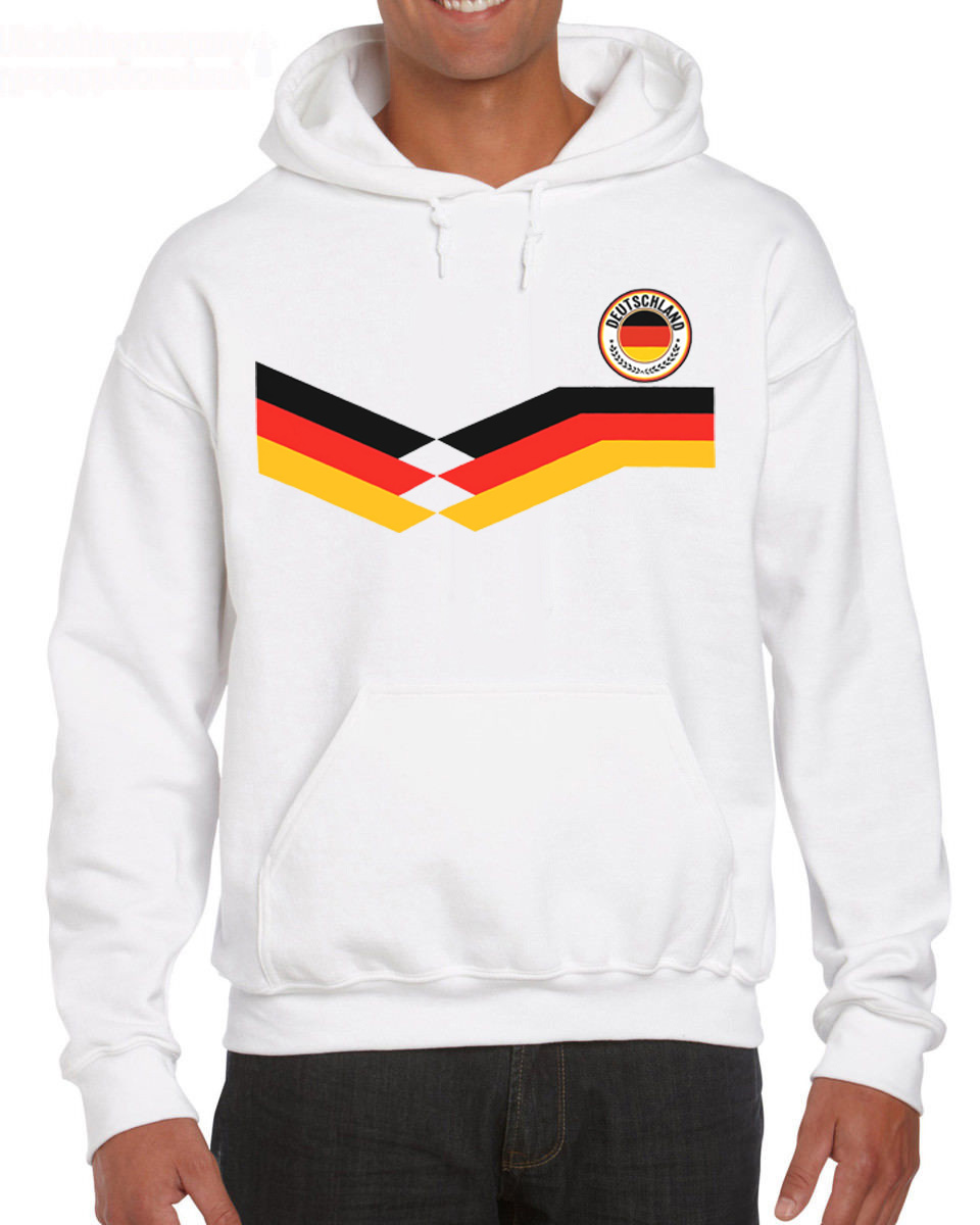 In 2019 Pop Cotton Man Deutschland Germany 2019 Men Footballer Make Hoodies Sweatshirt