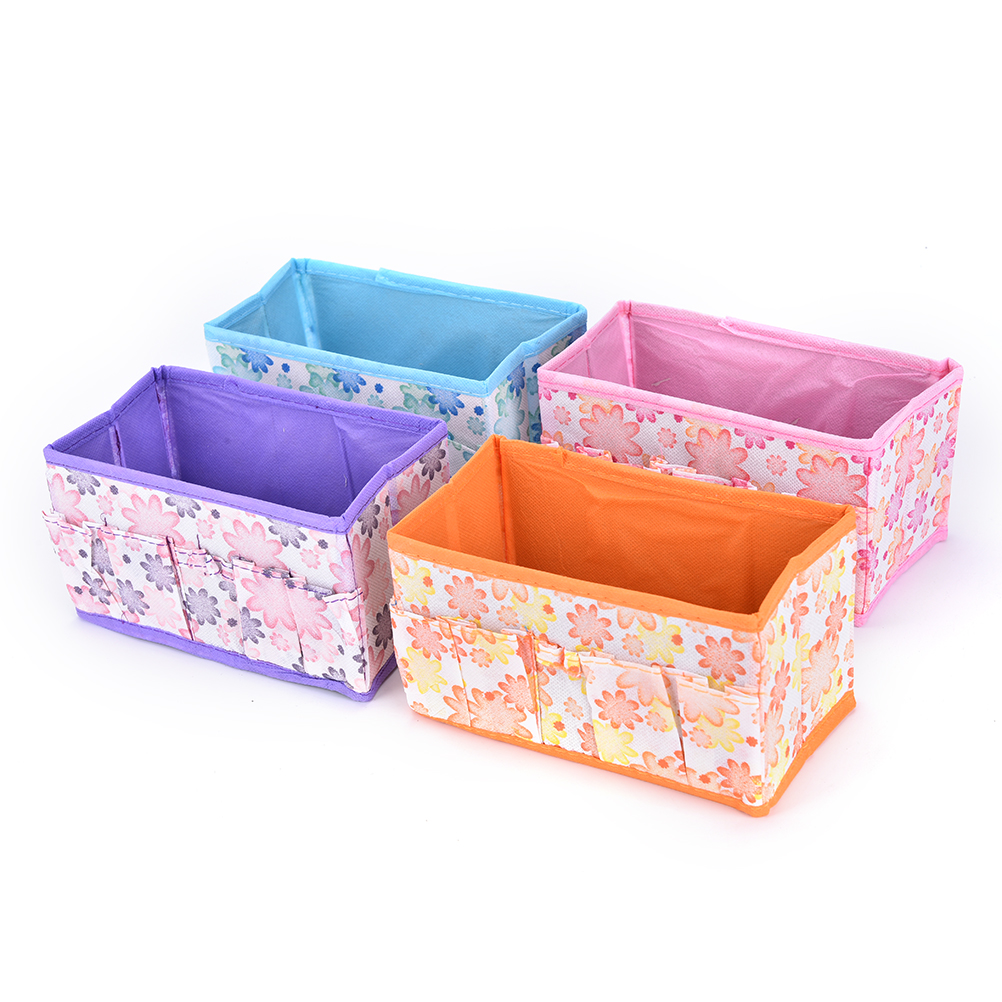 1PCS Large Capacity Foldable Multifunction Make Up Cosmetics Box Container Bag Dresser Desktop Cosmetic Makeup Organizer mini dresser make up tank mirror small dresser