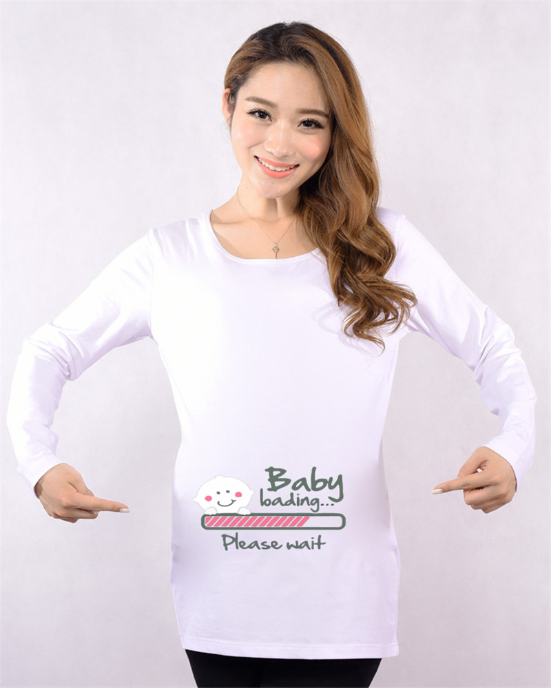Christmas New Mom to Be Cute Pregnancy Gift Maternity Clothes for Pregnant  Women Clothing Tops Wear-in Tees from Mother   Kids on Aliexpress.com  4add8ba45