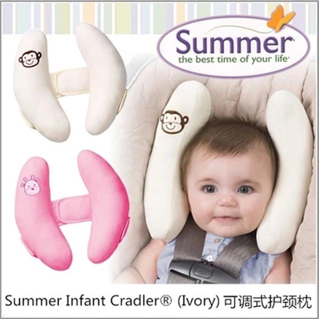 Assento de segurança para crianças pescoço travesseiro do bebê u travesseiro encosto de cabeça do carro u travesseiro de viagem