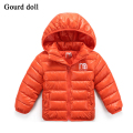 Hooded Children Jackets light coat for girls fashion cotton jackets for Boy girls High Quality Winter Boy Kids Jackets Coat