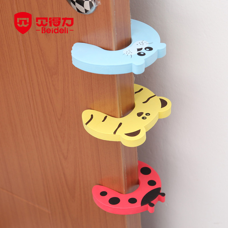 8 PCS/LOT High Quality Baby Safety Door Stopper Protecting Children Kids Safe Anticollision Corner Guard Finger Anti-folder