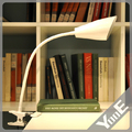 LED Table lamp dimming and color clip bedside Multi-function Folding Rechargeable reading Lights  5W USB / AC Input