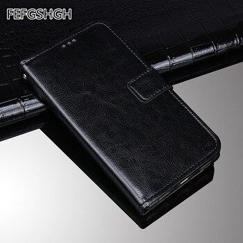 Перейти на Алиэкспресс и купить Для Capa AGM A9 Мягкий ТПУ чехол кожаный бумажник чехол для телефона AGM H1 чехол роскошный Флип кожаный чехол для AGM A9 H1 чехол