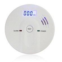 Домашняя безопасность 85 дБ Предупреждение Высокочувствительный ЖК-дисплей 433 МГц беспроводной CO датчик газа детектор угарного газа