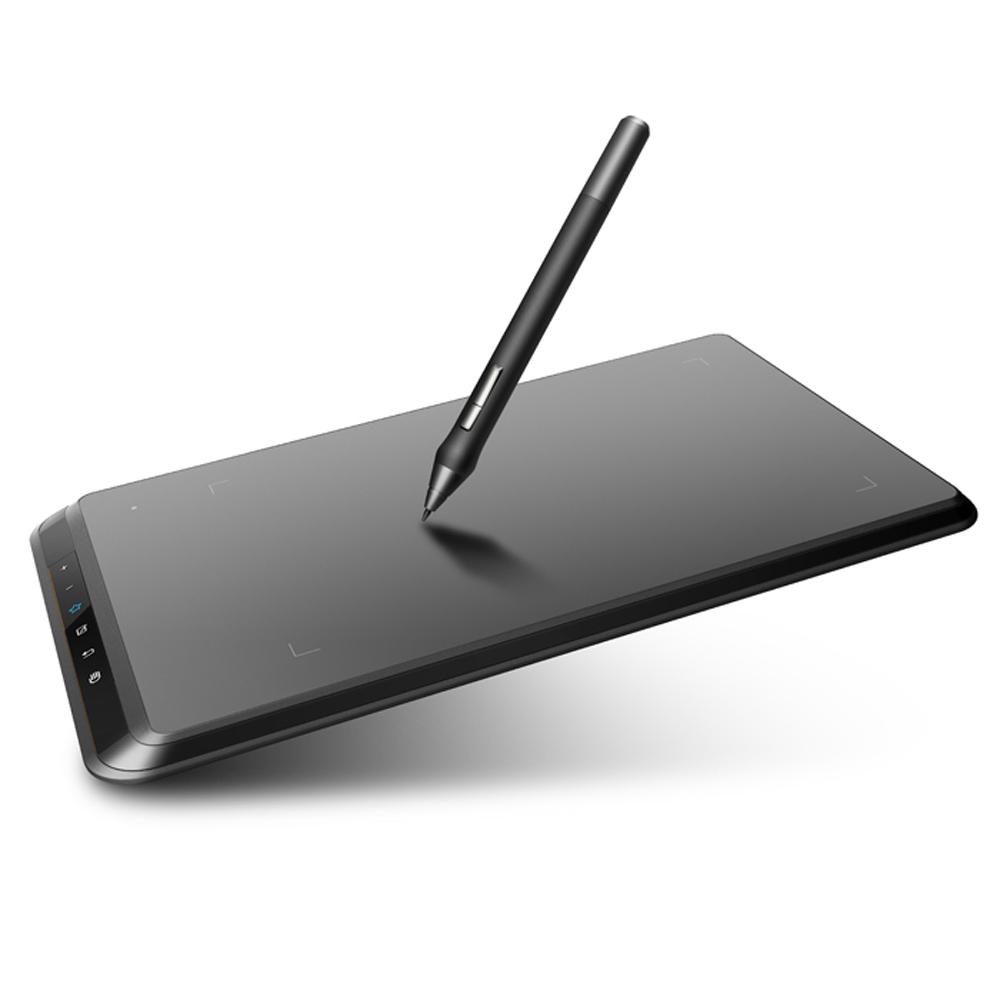 Prix pour UGEE EX07 8x5 pouces Smart Tablette Graphique 5080 LPI résolution avec P50S Dessin Écriture à la Plume pour Windows Vista Mac OS