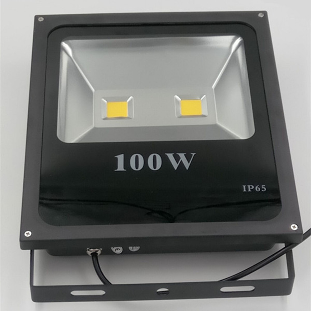 AC220V LED Flood Light 100W Reflector LED Floodlight Waterproof IP65 Spotlight Warm/Cold White Outdoor Lighting купить