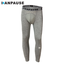 New Arrival  KANPAUSE Mens Tights Pants Running Fitness Trainning & Exercise Sportswear