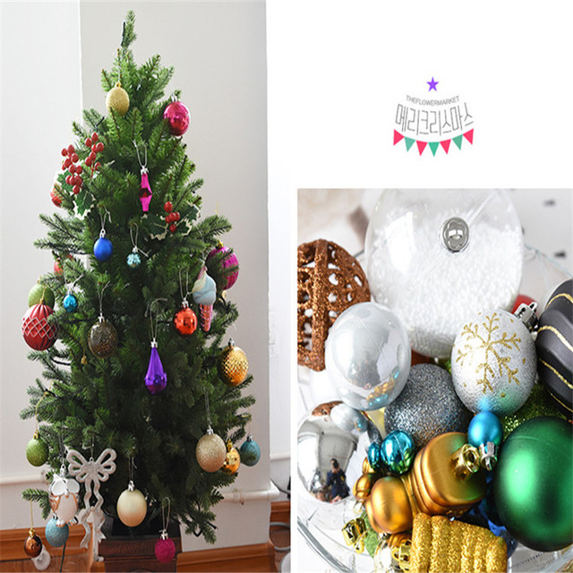 one box random mixed frames christmas balls xmas tree ornaments decoration merry christmas wedding party suppliers