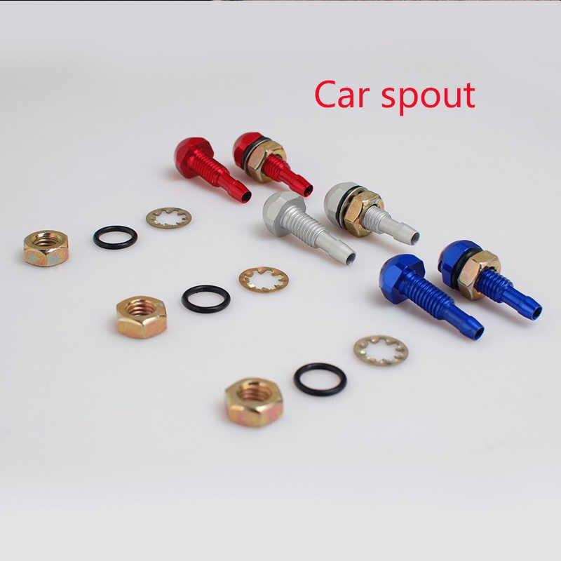 1 Pcs Mobil Styling Kaca Depan Wiper Semprot Mata Nozzle untuk BMW E46 E39 E60 E90 E36 F30 F10 X5 E53 e34 E30 MINI COOPER Resah Memberikan