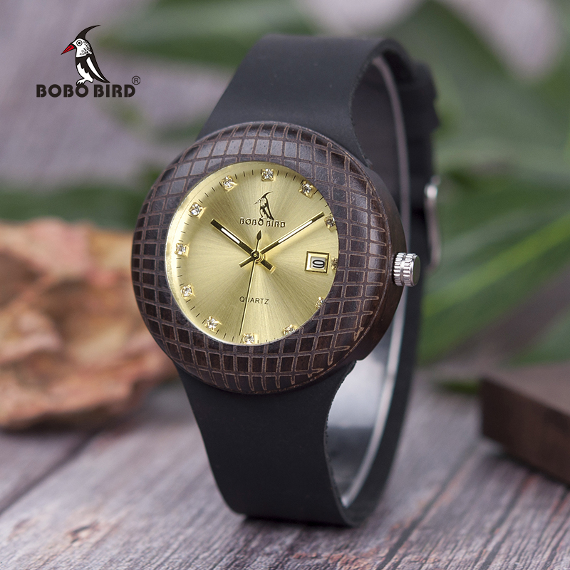 BOBO BIRD Women Wooden Wristwatch
