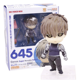 Anime ONE PUNCH MAN Genos 645 Nendoroid PVC Action Figure Collectible Model Toy Doll ( China Version )