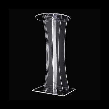 Free Shipping Environmental Acrylic Pulpit, Acrylic Podium Church / Clear Colorless Church Pulpit Platform