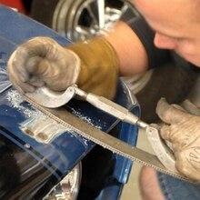 Регулируемая рама фрезерованная зубчатая машина тела полировщик файлов металлическая панель полировка изогнутые зуб стальной держатель для файлов(средний