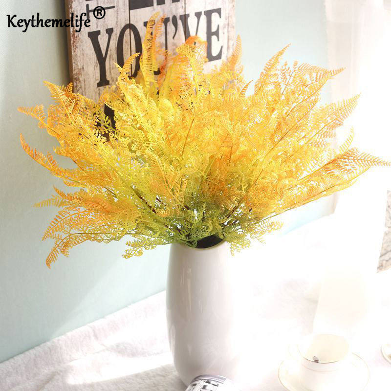 Keythemelife 1 Pcs Artificial Flowers Artificial Plants