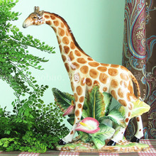 ceramic giraffe deer rural home decor crafts room decoration handicraft ornament porcelain figurines wedding decorations