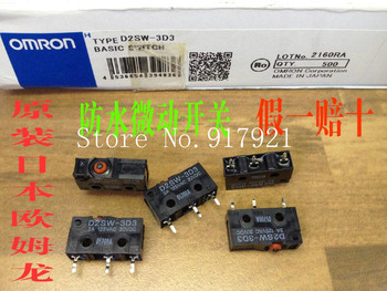 [ZOB] The original Japanese original original D2SW-3D3 imported waterproof micro travel limit switch 3A125V  --50pcs/lot