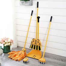 GWT The Broom To Sweep The Floor Mop Clean Suit House Mini Brush Cute Mop Dustpans Set