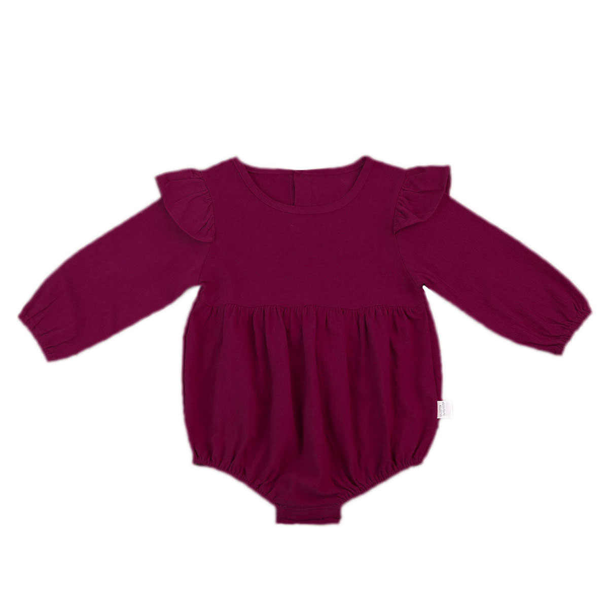 Pudcoco/однотонные хлопковые детские Осенние Комбинезоны; винтажный комбинезон для маленьких девочек; детская одежда с длинными рукавами; 3 мес.-3 года